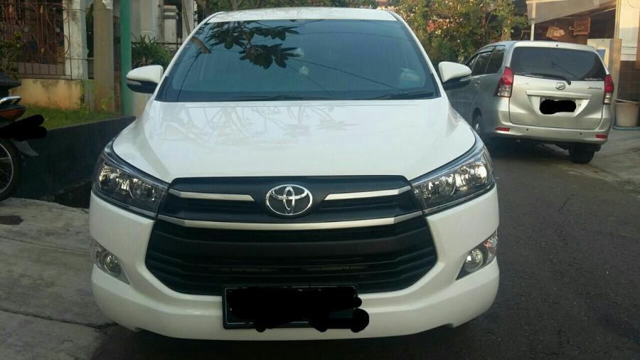 Over Toyota Innova Reborn Diesel type G Luxury Matic ...