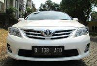 Jual TOYOTA ALTIS G AT Facelift 2011/2010 Putih Tgn 1 Pribadi
