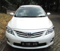 TOYOTA ALTIS G AT Facelift 2011/2010 Putih Tgn 1 Pribadi (Depan.jpg)