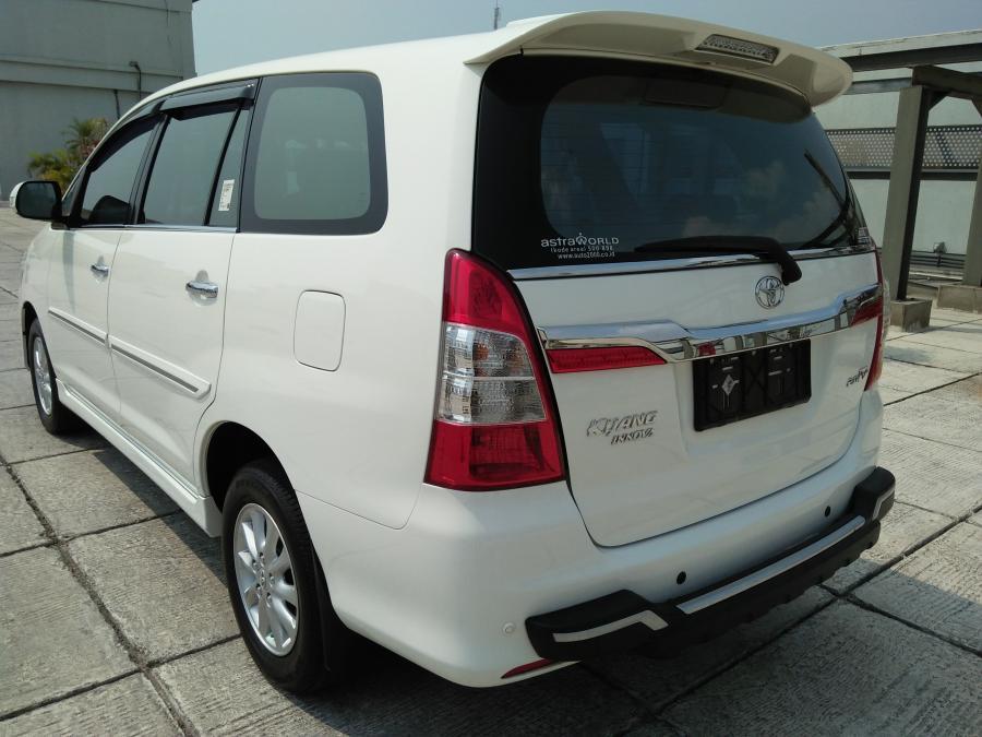 Kijang Innova V 2 0 Tahun 2014 Matic Putih Mobilbekas Com