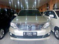 Toyota: Grand New Fortuner G Diesel Tahun 2012