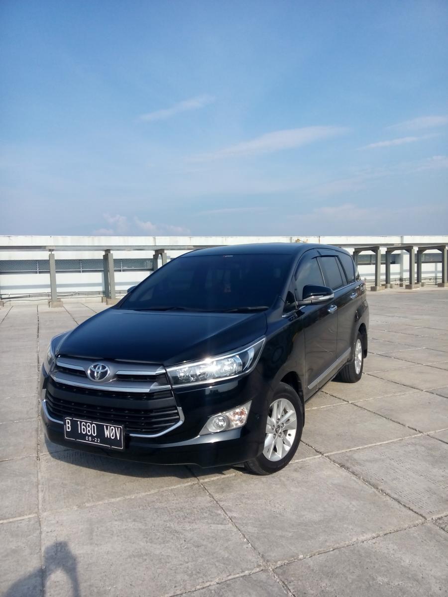 Toyota innova reborn V luxury diesel matic 2017 hitm ...