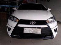 Jual Toyota Yaris TRD Sportivo (2015)AT warna putih kondisi bagus