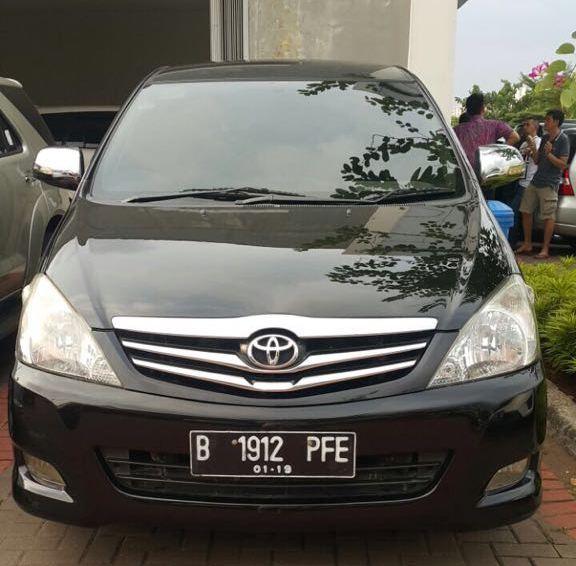 Toyota Innova V 2008 Hitam | ALT18 - MobilBekas.com