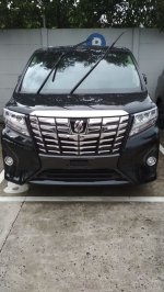 Jual Toyota Alphard type X 2.5 AT