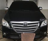 Jual Toyota innova G diesel matic 2013 hitam