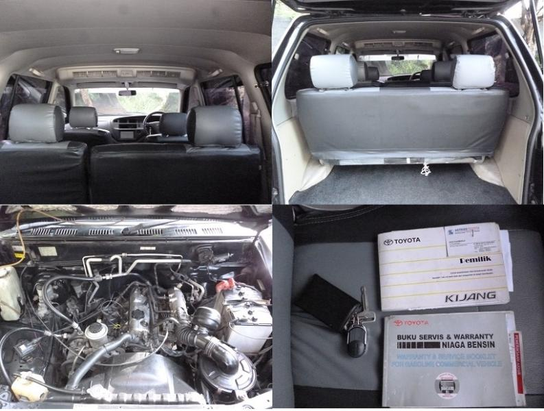 Toyota New Kijang LGX 1.8 Bensin manual TV AC dobel sangat ...