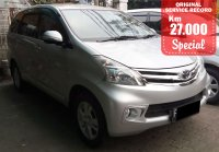 Jual Toyota: AVANZA G MANUAL SILVER 2014 SPECIAL CONDITION, KM 27 RB.