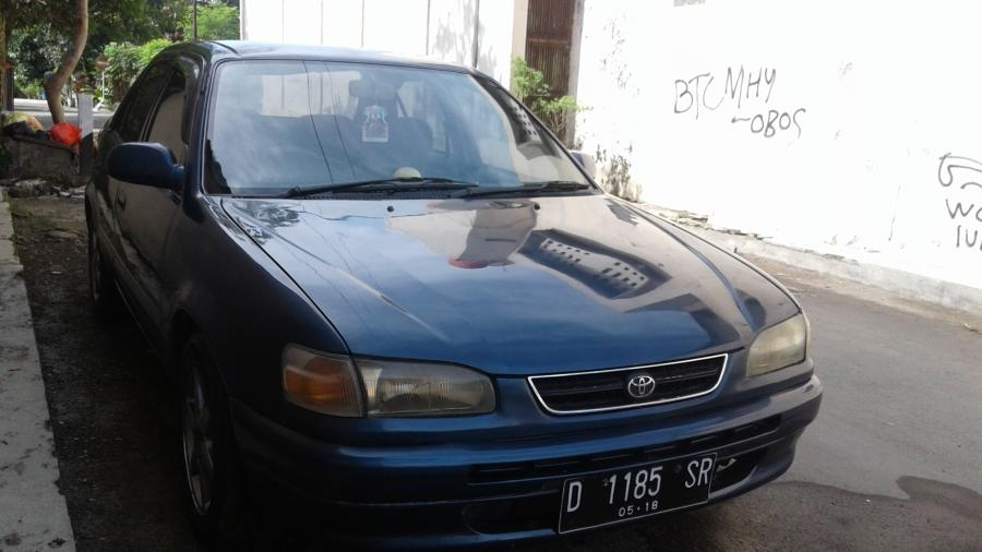 Toyota All New Corolla AE111 GLi Manual Build Up Tahun ...