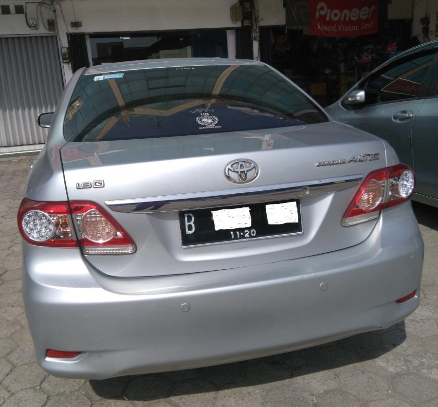Jual Toyota Corolla Altis 1.8 G AT tahun 2010 Silver ...