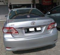 Jual Toyota Corolla Altis 1.8 G AT tahun 2010 Silver