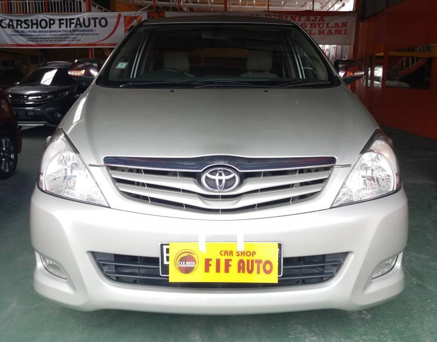 Toyota Kijang Innova 2.0 G AT 2011 silver metalik ...