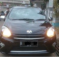 Jual Toyota Agya 1.0 G A/T 2014 Hitam Mulus