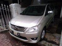 Jual Toyota: Grand Innova G Bensin 2012 Mulus Istimewa