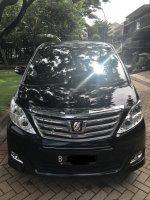 Dijual Toyota Alphard G ATPM , 2013 , Hitam , Facelift, Mulus