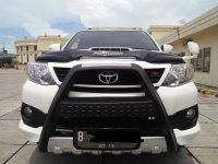 Jual Toyota: Fortuner G VNT TRD 2014 Matic Putih KM 20 Ribuan
