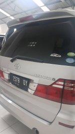Jual Toyota: alphard asg 2007 silver