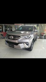 Jual Toyota Fortuner: Ready vrz silver 2017