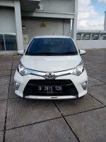 Jual Toyota Calya 1.2 G matic 2018 putih km 800 08161129584