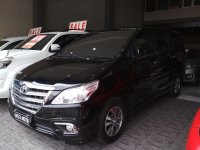 Jual Toyota: Innova V luxury 2015 AT Bensin hitam