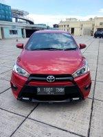 Toyota Yaris S trd sportivo 2015 matic merah 087876687332