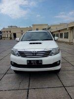 Jual Toyota Fortuner 2.5 G diesel matic 2013 putih 0816112958