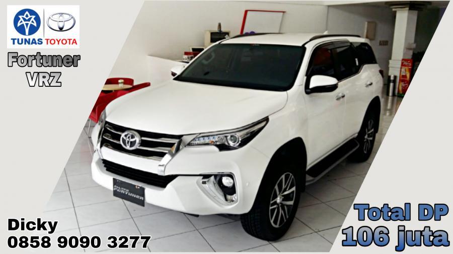 Toyota New Fortuner 4 x 2 2.4 VRZ 2018 + GRATIS 1 TAHUN ...