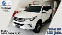 Jual Toyota New Fortuner 4 x 2  2.4 VRZ 2018