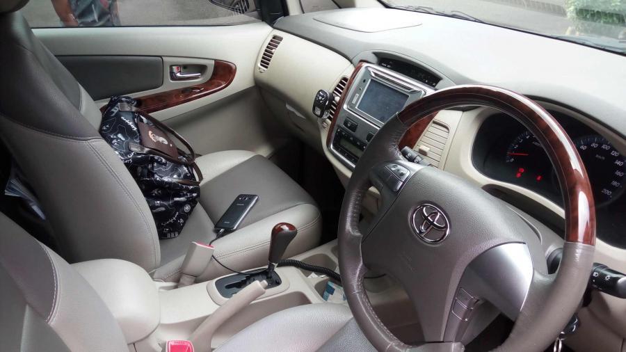 Jual Innova Grand New V 2 0 Luxury 2014 Murah Mobilbekas Com