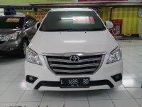 Toyota: Innova e+ 2014 MT disel putih bagus dan terawat