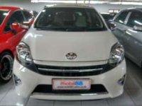 Toyota: jual agya 2014 G automatic