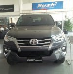Jual Toyota: Ready fortuner vrz grey sporty 2017 unit langka
