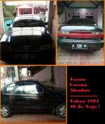 Toyota: Jual Corona Absolute New Model 1.6 (1600CC) Manual 1994