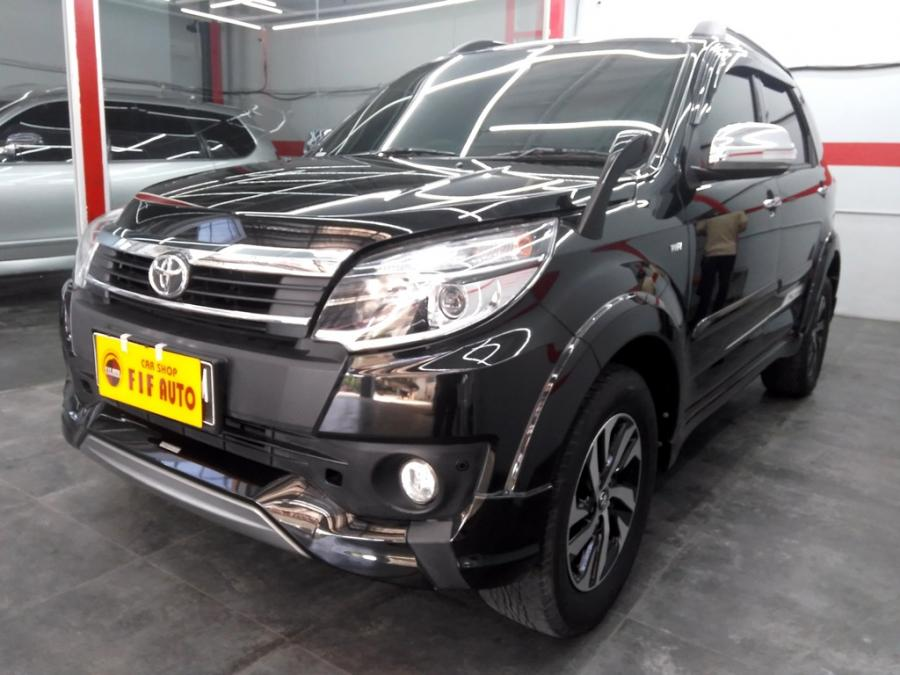 Toyota Rush S TRD Sportivo 2015 manual warna hitam ...