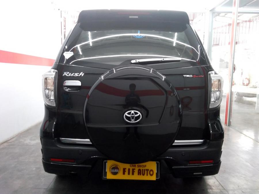 Toyota Rush S TRD Sportivo 2015 manual warna hitam ...