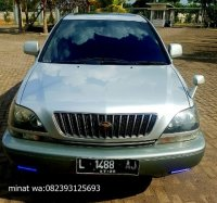 Jual toyota harrier th 2000 4wd top plat L