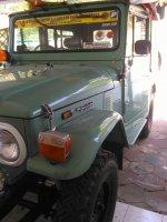 Jual Toyota: Hardtop Legendaris FJ40 tangguh dan Badak ( Kanvas) ori bukan restoras