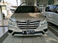 Jual Toyota: Innova E Manual 2014 Silver. siap Mudik