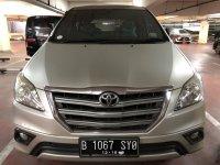 Jual Toyota: Innova, tipe G, Des 2013, manual, bensin, silver