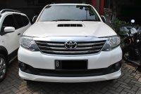 Jual Toyota Fortuner Diesel VNT AT 2013 warna putih , The Smart SUV
