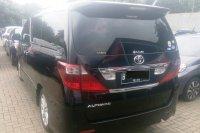 Jual Toyota Alphard 2.4 S AT Hitam Tahun 2011
