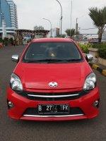 Jual Toyota Agya 1.0 G AT 2015 Merah