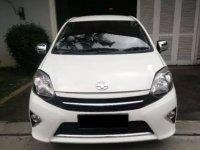 Jual Toyota Agya G Matic A/T 2014 Putih | Tangan Pertama | KM 30ribuan