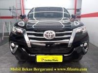 Jual Toyota Fortuner 2.4 VRZ 2016 Automatic, warna Hitam