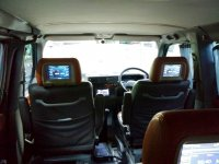 Volkswagen: DIJUAL BU VW CARAVELLE 1992 EX KTT, SANGAT TERAWAT (TV tampilan dr dalam ke depan.jpeg)