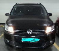 Jual Volkswagen: VW New Touran TSI 1.4 A/T Tahun 2012 Hitam Metallic